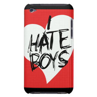 I Hate boys Case-Mate iPod Touch Case