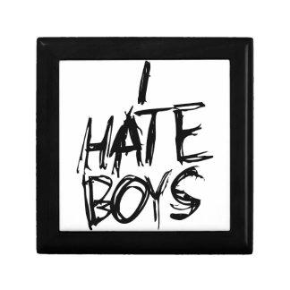 I hate Boys Keepsake Box
