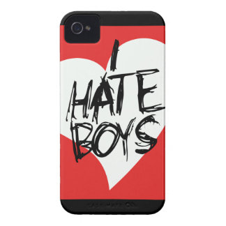 I Hate boys iPhone 4 Case-Mate Cases