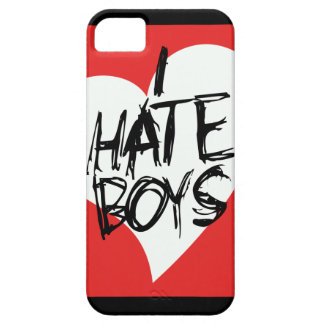 I Hate boys iPhone 5 Cases