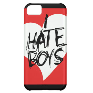 I Hate boys iPhone 5C Cases