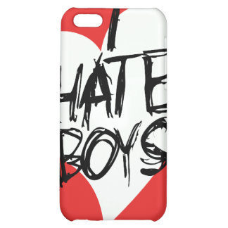 I Hate boys Case For iPhone 5C