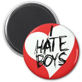 I Hate boys Magnet