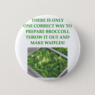 i hate broccoli button