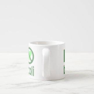 I Hate Broccoli Espresso Cup