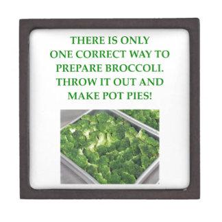i hate broccoli jewelry box