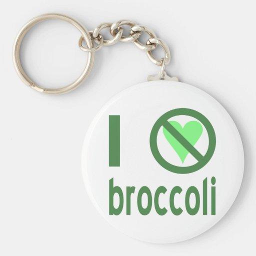 I Hate Broccoli Key Chain