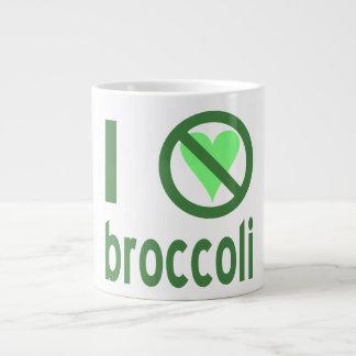 I Hate Broccoli Large Coffee Mug