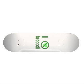 I Hate Broccoli Skateboard Deck