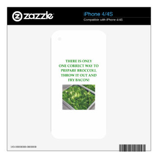 i hate broccoli skin for the iPhone 4S