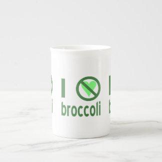 I Hate Broccoli Tea Cup