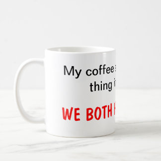 I hate Busta Coffee Mug! Classic White Coffee Mug