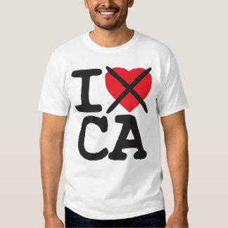 I Hate CA - California Tee Shirt