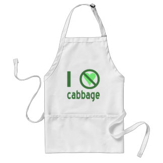 I Hate Cabbage Adult Apron