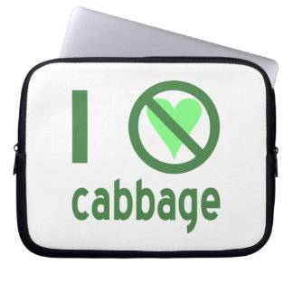 I Hate Cabbage Computer Sleeves