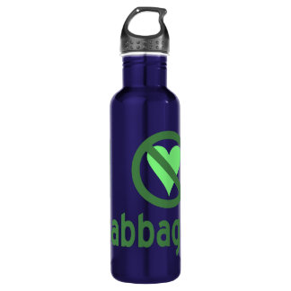 I Hate Cabbage Water Bottle