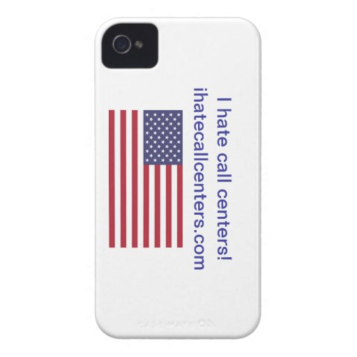 I hate call centers! Gifts Case-Mate iPhone 4 Cases