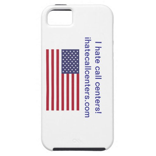 I hate call centers! Gifts iPhone 5/5S Cover