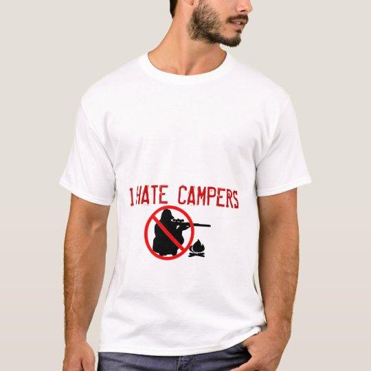 I Hate Campers Tee