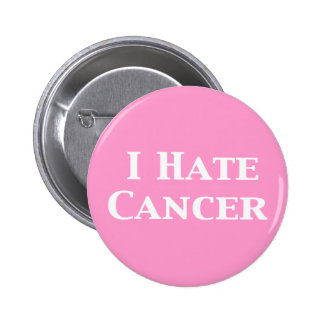 I Hate Cancer Gifts Button