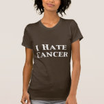 I Hate Cancer Gifts T-shirts