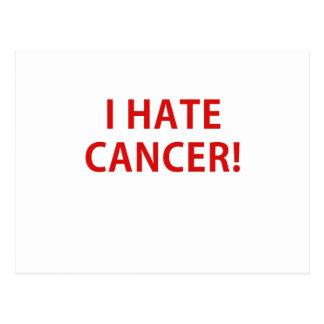I Hate Cancer Postcard