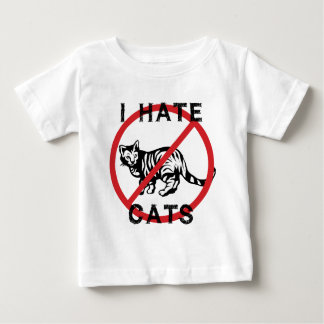 I Hate Cats Baby T-Shirt
