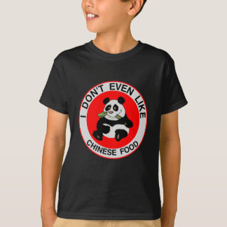I Hate Chinese Food Tee Shirt