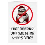 I Hate Christmas Cards