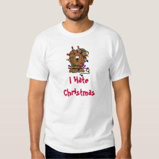 I Hate Christmas Holidays T-shirt