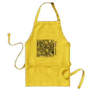 I hate cooking! adult apron
