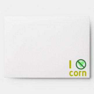 I Hate Corn Envelope