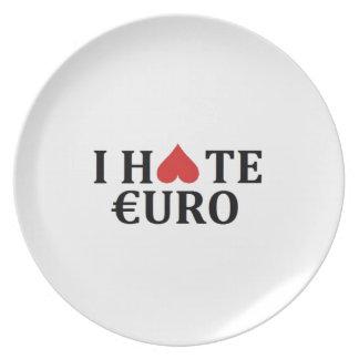 I hate euro plate