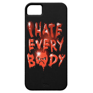 I Hate Everybody iPhone 5 Case