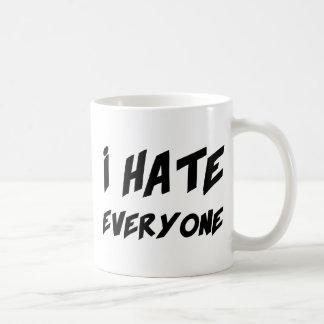 I Hate Everyone Coffee Mug