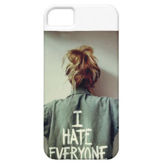 """""""I Hate Everyone"""" Iphone 5 phone case iPhone 5 Cases"""