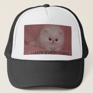 i hate everything trucker hat