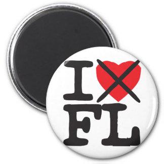 I Hate FL - Florida Magnet
