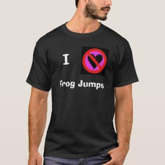 I hate frog jumps T-Shirt