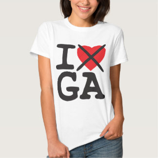 I Hate GA - Georgia Shirt