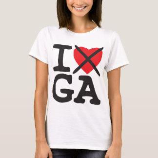 I Hate GA - Georgia T-Shirt