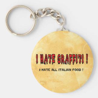 I hate Graffiti Keychains