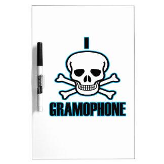 I Hate Gramophone. Dry Erase Board