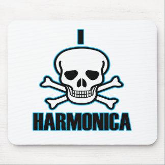 I Hate harmonica. Mouse Pad