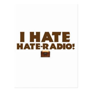 I Hate Hate-radio! Postcard