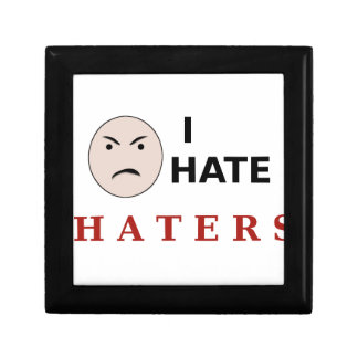 I Hate Haters Jewelry Boxes
