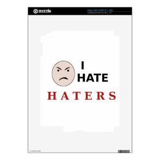 I Hate Haters Skin For iPad 2