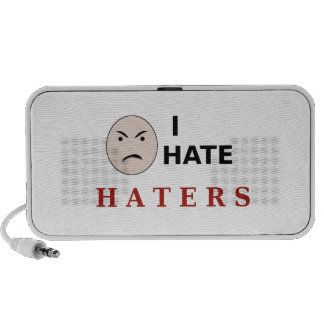 I Hate Haters Travel Speakers