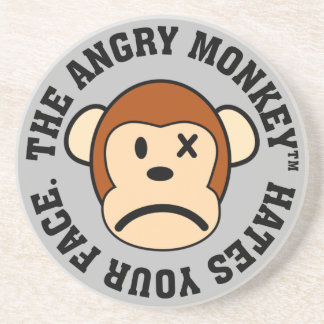 I hate having to look at your face everyday drink coaster