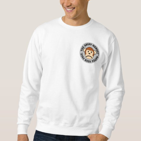 I hate having to look at your face everyday sweatshirt